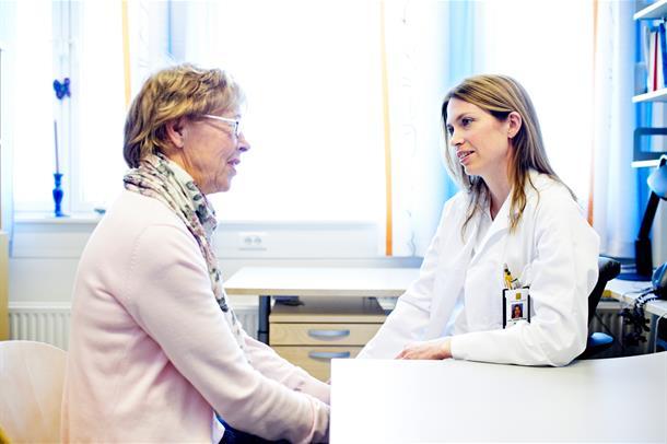 lege og pasient