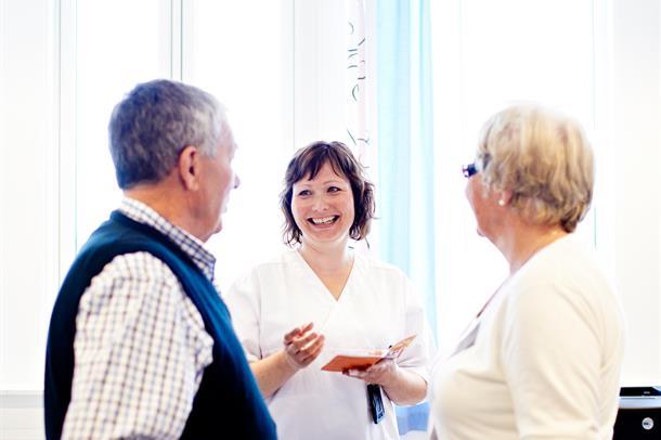samtale med sykepleier
