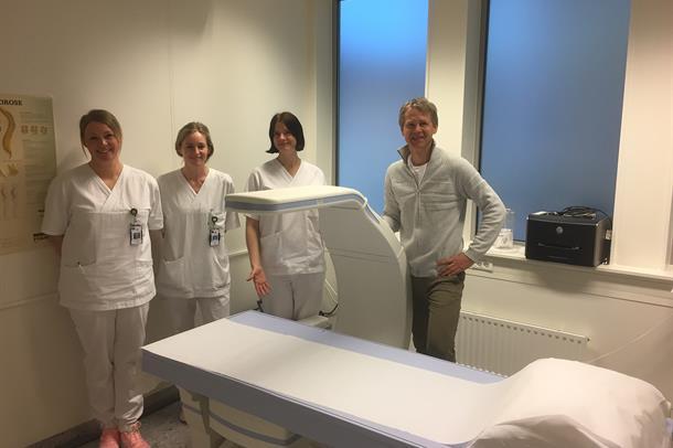 Ansatte ved Osteoporosepoliklinikken
