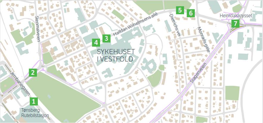 Bygger Om Halfdan Wilhelmsens Alle For Bussruter Sykehuset I